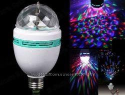 Светодиодная Диско-лампа LED Mini Party MYTH LY-399 E27