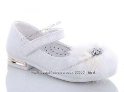 Белые нарядные туфли Солнце р. 27-31