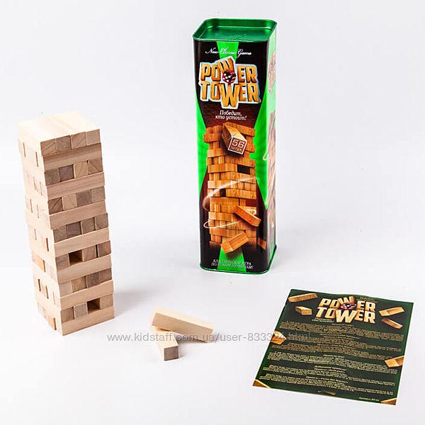 Настольная игра Башня Дженга Power Tower