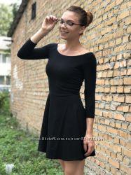 Чёрное платье от terranova