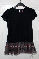 Плаття велюрове фатиновий низ 5 років