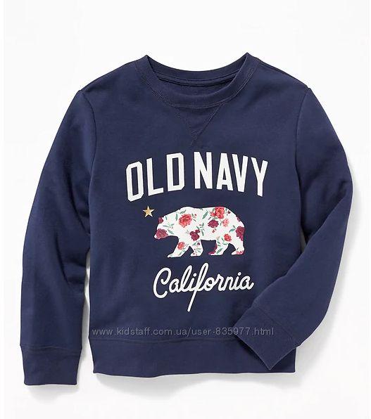 Свитшот, свитер, реглан Олд Неви, Old Navy, размер Л, ХЛ