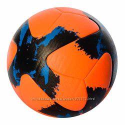 мяч футбольный размер 5, ПУ 4мм. , 410гр. , ламин. EN 3277 12