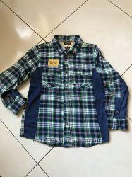Байковая рубашечка chicco 122, 7