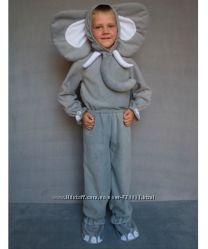 Прокат костюма Слоник от 98 до 122 см