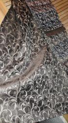 Красивые и плотные шторы Мелкий завиток, новинка, пошив