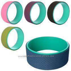 Колесо для йоги Fit Wheel Yoga 1842 TPE  PVC, 33х13см 5 цветов