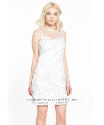 Качественное нарядное платье в размере анг. 8  XS Покупали в Англии