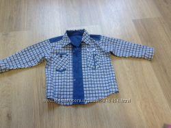 Детская рубашка на мальчика до 3-х лет, состояние отличное
