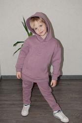 Детский теплый костюм Кендал Худи и Брюки рост 98-158