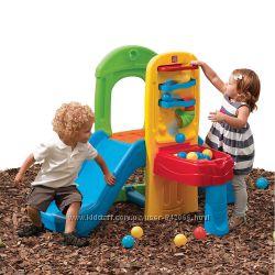 Step 2 детская горка для площадки
