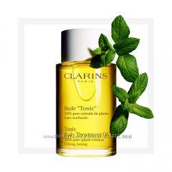 Масла для тела Clarins - Tonic, Relax, Contour, Shimmer