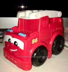 Пожарная машина mega bloks