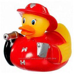 Munchkin игрушка для ванны Утка пожарный