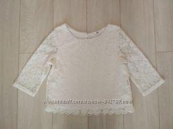 Ажурна блуза на 9-10рок