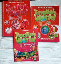 Учебник English World 1 Pupils book, Work book, Grammar Practice book