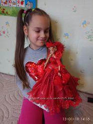 в наличии 152 кукла шкатулка подарок барби