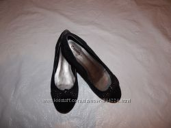 р. 37, туфли замшевые низкий ход Centro