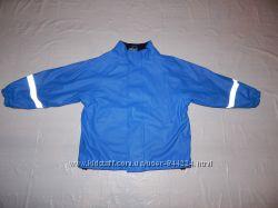 3-5 лет, р. 98-110, Куртка непромокайка дождевик на флисе Water Breaker, Шв