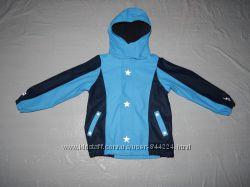 4-6 лет, р. 110-116, Куртка непромокайка дождевик на флисе ТСМ, Германия