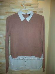 Шикарнючая кофточка-свитер ATMOSPHERE р. 44-46 В идеале