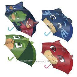 Детский испанский зонт 3d герои в масках