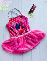 Испанское красное платье купальник для танцев Леди Баг 2-7 лет