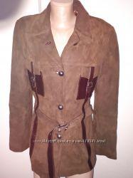 р XL куртка замша Ripelle Made in Italy состояние идеальное в реале цвет бо