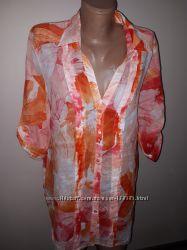 большой размер коттон новая блуза Olsen