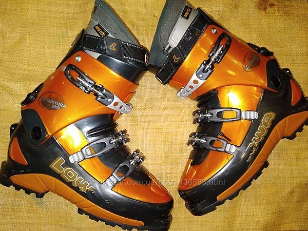 9/ 10.5 р лыжные ботинки 28.5-29.5 Lowa  Struktura evo Gore Tex Made in Ita