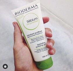 Bioderma Sebium Gel Gommant гель скраб отшелушивающий для лица