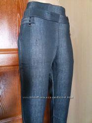 Джинсики-штанишки, легинсы на меху больших размерчиков от 50 до 60р.