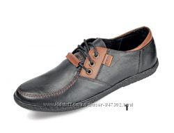 Кожаные туфли Мида Mida