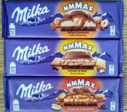 Milka 300 грам - шоколад - 13 видів - супер ціна