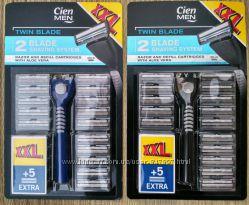 Набір XXL Cien станок та 25 змінних касет для чоловіків