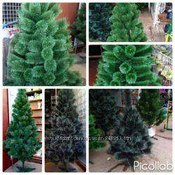 Сосна зеленая, с инеем-от 1 м до 2. 30 м-отличное качество-доступная цена