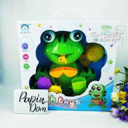 Интерактивная игрушка для ванной веселая забавная лягушка