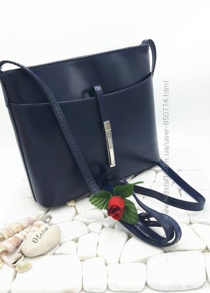 Итальянские сумочки кроссбоди. Натуральная кожа. Италия