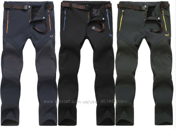 Мужские брюки штаны Jack Wolfskin