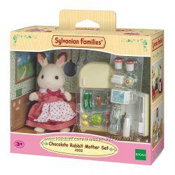Sylvanian families, Мама шок. кролика и холодильник