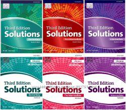 Комплект Solutions Student&acutes  Work Book 3 rd edition