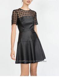 Лимитированная коллекция платье коктейльное zara оригинал p. xs