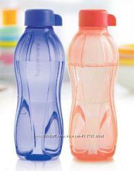 Эко-бутылка 500 мл в синем и коралловом цвете Tupperware