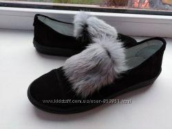 Замшеві жіночі туфлі ТМ Мальви
