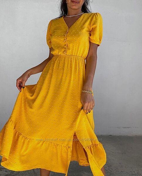 Женское платье ниже колен, летнее воздушное платье для девушек
