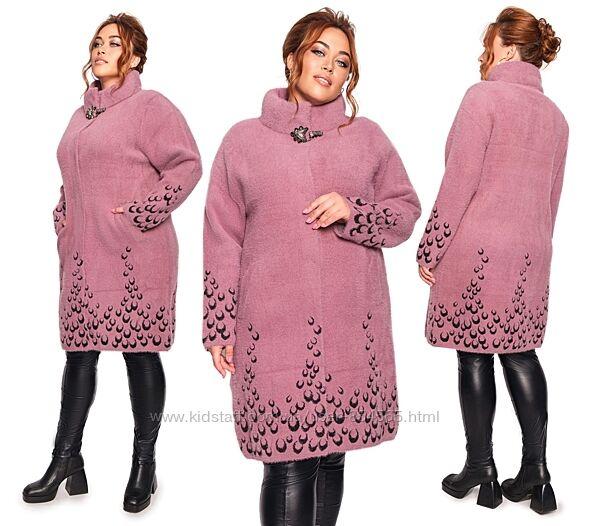 Пальто из альпаки, Альпака супер большие размеры, Пальто из шерсти альпака