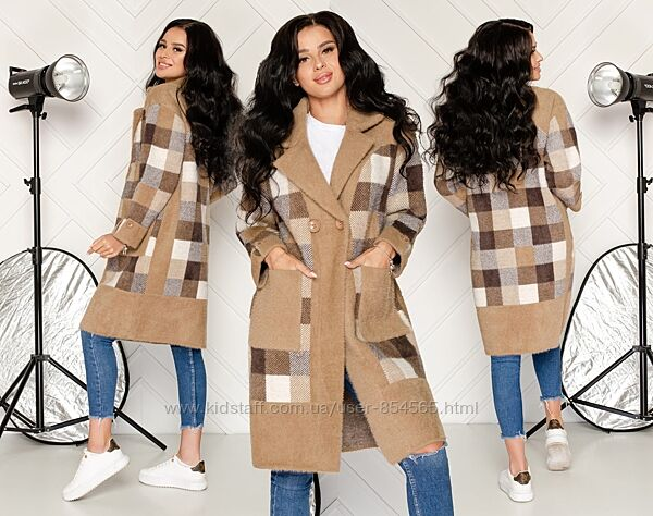 Пальто из шерсти альпаки, пальто альпака, модное пальто шерсть альпака