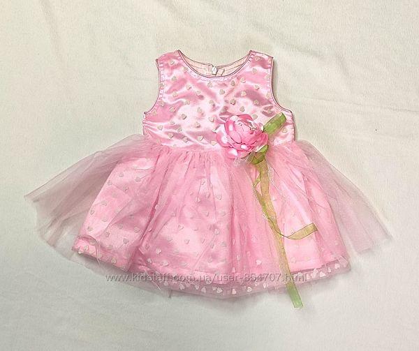 Платье детское нарядное I Candy размер 56-68 см, 3-6 мес