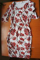 Новое трикотажное платье для беременной XS S из США без бирки