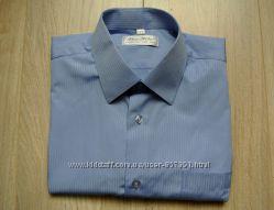 мужская классическая рубашка с коротким рукавом PAN FILO